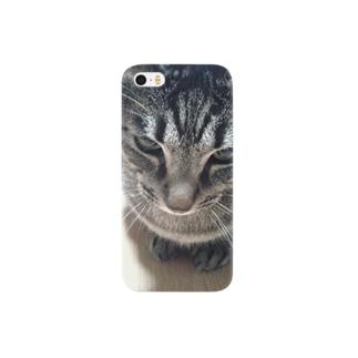 しましま雑種猫 Smartphone cases