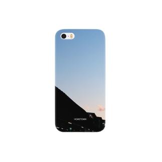 11/15 駅と秋空 HOMETOWN Smartphone cases
