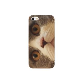 ハチワレねこ仮面 Smartphone cases