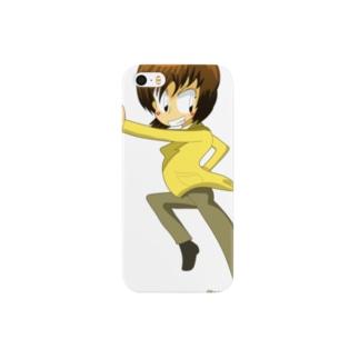 百合のグッズ スマートフォンケース
