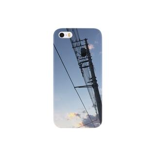 電信柱 Smartphone cases