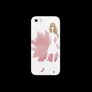 bonbonniereのspring girl Smartphone cases