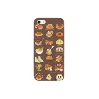 パンパンのパンダパン Smartphone cases