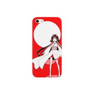 角むす・和(紅) Smartphone cases