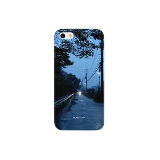 11/20 小雨の道 HOMETOWN Smartphone cases
