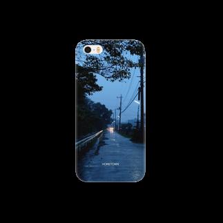 りゅの11/20 小雨の道 HOMETOWN Smartphone cases