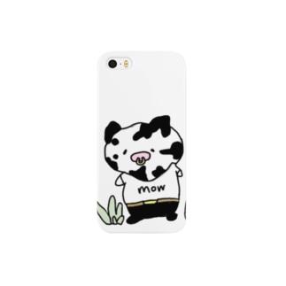 牛さんキートン Smartphone cases
