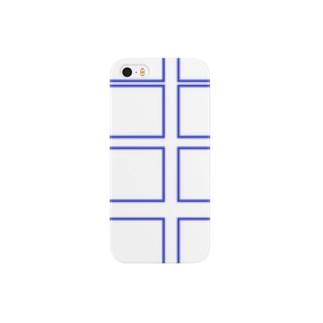 無題(青) Smartphone cases