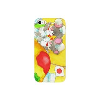 つまみぐい Smartphone cases