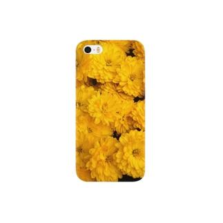 黄色いお花 Smartphone cases