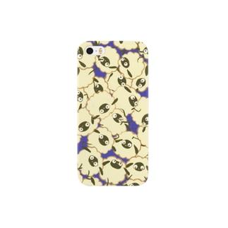 ぎゅうぎゅうメリー(パープル) Smartphone cases