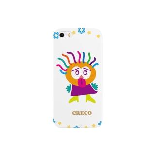 あっかんべーだ!のクレコちゃん Smartphone cases