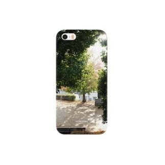 11/21 冬の公園 HOMETOWN Smartphone cases
