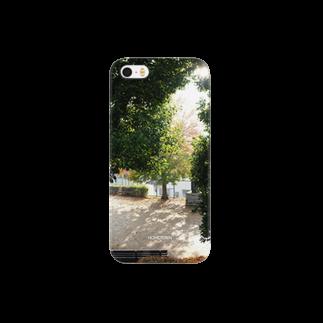 りゅの11/21 冬の公園 HOMETOWN Smartphone cases