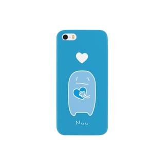 ぬーさん スマホケース iphone5S 【青色版】 Smartphone cases