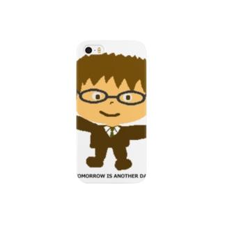 めがねくん-01 Smartphone cases