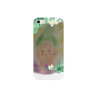 A smiling Buddha-cha Smartphone cases