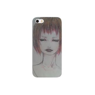 赤髪の女の子 Smartphone cases