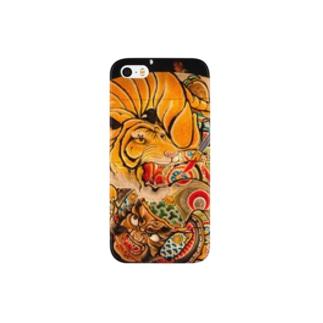 黒石ねぷた ⑶ Smartphone cases