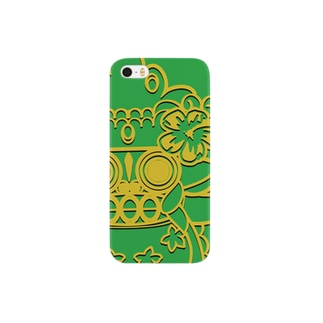 ばろんくんグリーン Smartphone cases