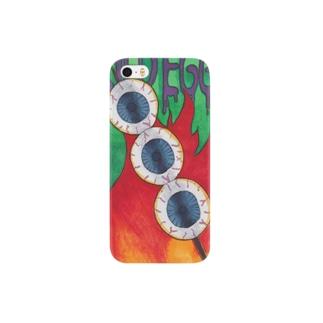 額面通り、目玉焼き Smartphone cases