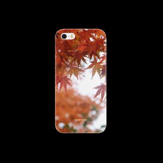 りゅの11/26 濡れ紅葉 HOMETOWNスマートフォンケース