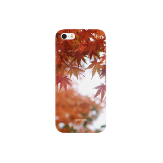 りゅの11/26 濡れ紅葉 HOMETOWN スマートフォンケース