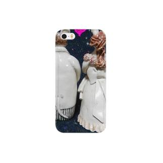 Happyネズミの新郎&新婦 Smartphone cases
