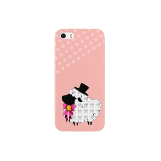 sheep*black Smartphone cases