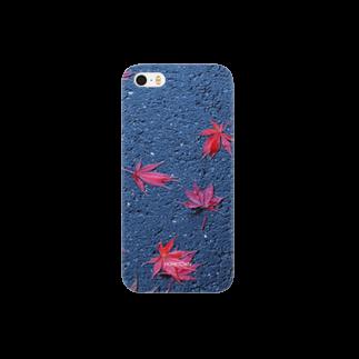 りゅの11/29 道の落葉 HOMETOWN Smartphone cases