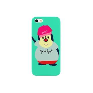 服を着たPeggy Smartphone cases