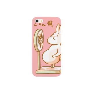 ウサギのあみちゃん(ピンク) Smartphone cases