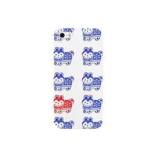 張子犬はんこ Smartphone cases