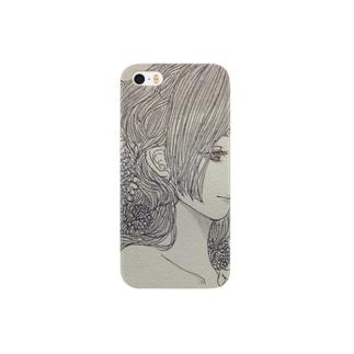菊の彼女 Smartphone cases