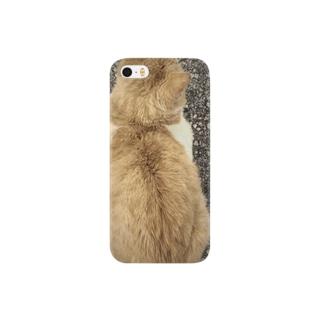 みのむし猫の Smartphone cases