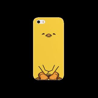 【飛ば鳥】iphoneひよこ・ドアップ スマートフォンケース