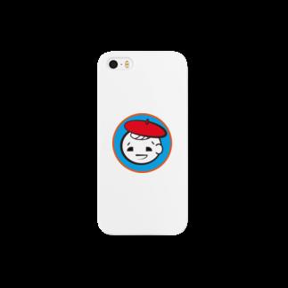 asitamoのベレー帽ぼうや Smartphone cases