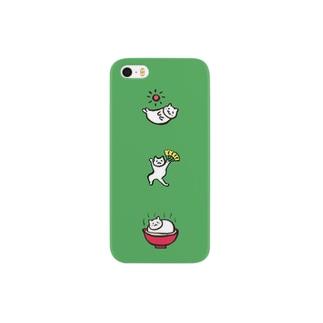 01ねこポッポ Smartphone cases