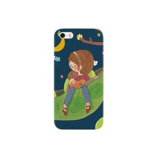 えだまめハンモック Smartphone cases