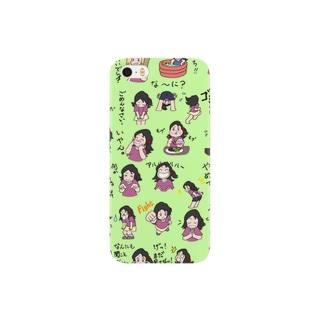 くまぱんち 次女チイ Smartphone cases