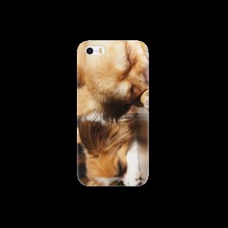 りんご党蜂蜜の仲良くお休み Smartphone cases