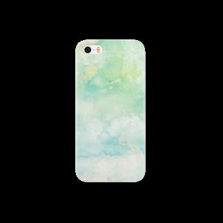 鈴-suzu- Art shopの水滴の音が広がる世界 Smartphone cases