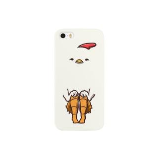 【飛ば鳥】iphoneにわとり スマートフォンケース