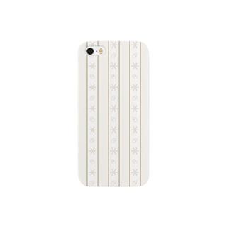 マステ風スノーフレークライン Smartphone cases