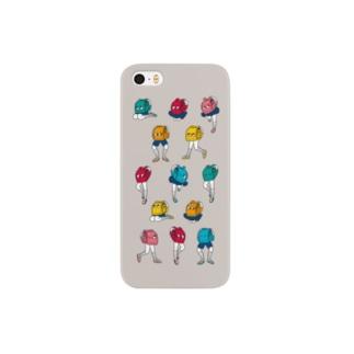 ランドセルくん集合! Smartphone cases