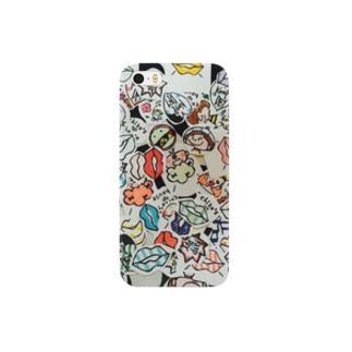 colorful♡stamp▶︎スマホケース Smartphone cases