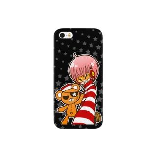 「ニコ×バツ」(iPhone SE/5s/5 専用) Smartphone cases