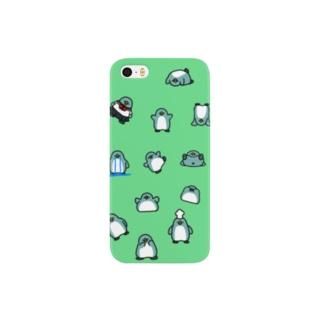 ちらばるいろんなペンギン Smartphone cases