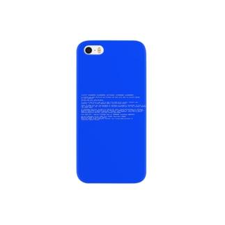 BSOD(Blue Screen of Death) スマートフォンケース