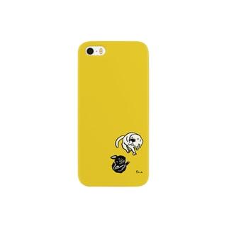 みあげる犬たち Smartphone cases